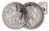 2015 Isle of Man 1-oz Silver The Longest Reign Queen Elizabeth II NGC PF69UCAM