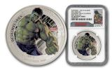 2015 Niue 1-oz Silver Avengers Proof 5pc Set NGC PF70UCAM First Struck