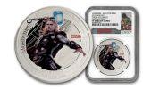 2015 Niue 1-oz Silver Avengers 5 pc Set NGC PF69UC