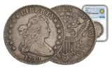 1799 1 Dollar Drapped Bust NGC VG Smithsonian Coin Classics