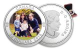 2016 Canada 20 Dollar 1-oz Silver Royal Tour Proof