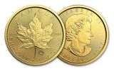 2017 Canada 50 Dollar 1-oz Gold Maple Leaf BU