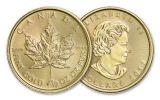 2017 Canada 20 Dollar 1/2-oz Gold Maple Leaf BU