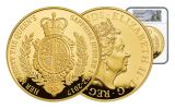 2017 Great Britain 1000 Pound 1 Kilo Gold Sapphire Jubilee NGC PF70UCAM First Struck