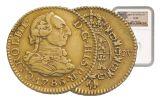 1742-1788 Spain Gold Half Escudo NGC XF