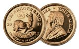 2017 South Africa 1/20-oz Gold Krugerrand Proof