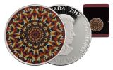 2016 Canada 20 Dollar 1-oz Silver Kaleidoscope: The Loon Proof