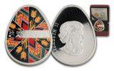 2017 Canada 20 Dollar 1-oz Silver Traditional Pysanka Proof