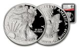 2017-W 1 Dollar 1-oz Silver Eagle NGC PF70UCAM FDI 225th Anniversary - Black