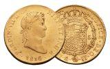 1772-1824 Spain Gold 8 Escudo VF