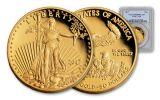 2017-W 50 Dollar 1-oz Gold Eagle Proof PCGS PR69DCAM