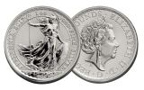 2017 Great Britain 2 Pound 1-oz Silver Britannia Uncirculated 20th Anniversary Uncirculated
