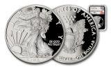 2017-W 1 Dollar 1-oz Silver Eagle Proof NGC PF70UCAM Mercanti - Black