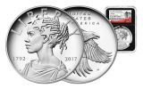 2017-P 1oz Silver American Liberty Medal NGC PF70 UC ER 225 BC
