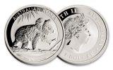 US AU CN SAF 1-oz Silver Argento Hoard NGC PCGS- 5pc