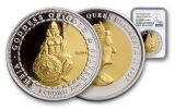 2017 Ascension Islands 1 Crown 1.5-oz Bi-Metal Theia NGC PF70UCAM First Releases