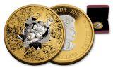 2017 Canada 50 Dollar 3-oz Silver Brave & Bold DC Comics Proof