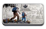 2017 Canada 25 Dollar 1.5-oz Silver The Great Trail Proof