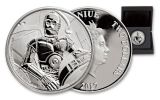 2017 Niue 2 Dollar 1-oz Silver Star Wars Classic C-3PO Proof