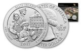 2017 25 Cent America The Beautiful Ellis Island Quarters 3-pc Set
