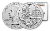 2017 25 Cent 5-oz Silver America The Beautiful Ellis Island NGC MS69DPL First Releases