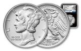2017-P 25 Dollar 1-oz Palladium American Eagle High-Relief NGC MS70 Early Release Palladium Label- Black
