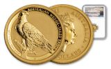 2017 Australia 1/10-oz Gold Wedge Tailed Eagle NGC MS70 First Releases - Mercanti Signed