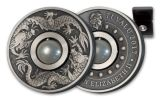 2017 Australia 1 Dollar 1-oz Silver Dragon and Peal Antiqued