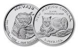 2015 New Mexico 1 Dollar 1-oz Silver Navajo Cougar Proof