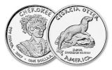 2017 Georgia 1 Dollar 1-oz Silver Cherokee Otter Proof