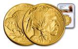 2018 50 Dollar 1-oz Gold Buffalo NGC MS70 Early Releases Buffalo Label
