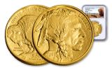 2018 50 Dollar 1-oz Gold Buffalo NGC MS69 Early Releases Buffalo Label