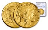 2018 50 Dollar 1-oz Gold Buffalo NGC MS70 First Releases