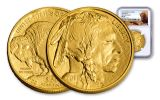 2018 50 Dollar 1-oz Gold Buffalo NGC MS69 First Releases Buffalo Label