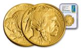 2018 50 Dollar 1-oz Gold Buffalo NGC MS70 First Day Of Issue
