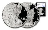 2018-W 1 Dollar 1-oz Silver Eagle NGC PF70UCAM First Releases - Black