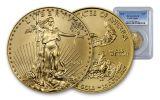 2018 25 Dollar 1/2-oz Gold Eagle PCGS MS70