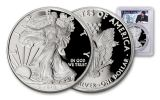 2018-W 1 Dollar 1-oz Silver Eagle PCGS PR70DCAM First Strike - Reagan Liberty Coin Act