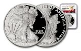 2018-W 1 Dollar 1-oz Silver Eagle NGC PF69UCAM Eagle Label
