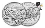 2018-P 1 Dollar Silver World War I Centennial BU