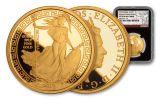 2018 Great Britain One-Ounce Gold Oriental Britannia NGC PF70UC