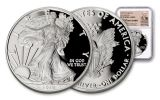 2019-W $1 1-oz Silver American Eagle NGC PF70UC Early Releases - Exclusive Weinman Label