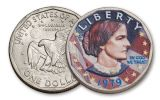 Susan B Anthony Dollar Coin Complete Collection