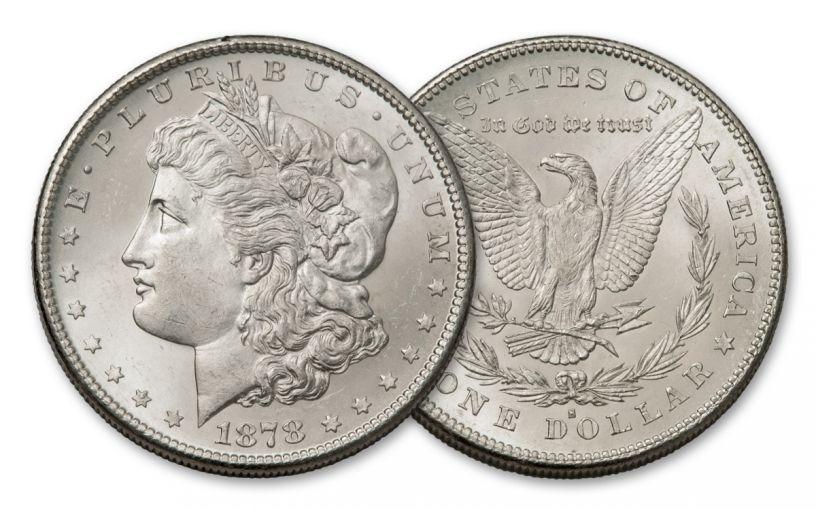 1878-S Morgan Silver Dollar BU