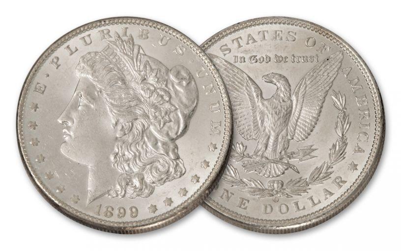 1899-O Morgan Silver Dollar BU