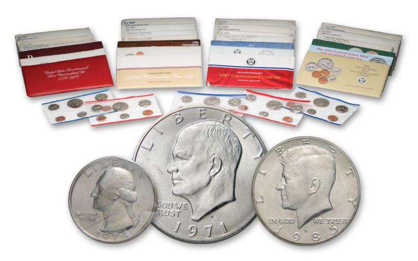 1968-1994 United States Mint 25 Year Set