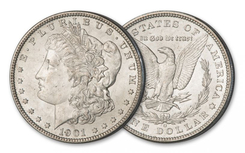 1901-O Morgan Silver Dollar BU