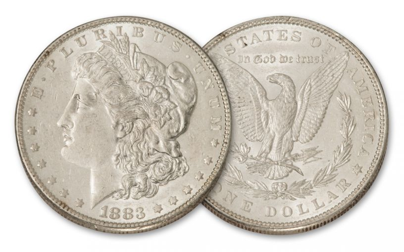 1883-P Morgan Silver Dollar BU