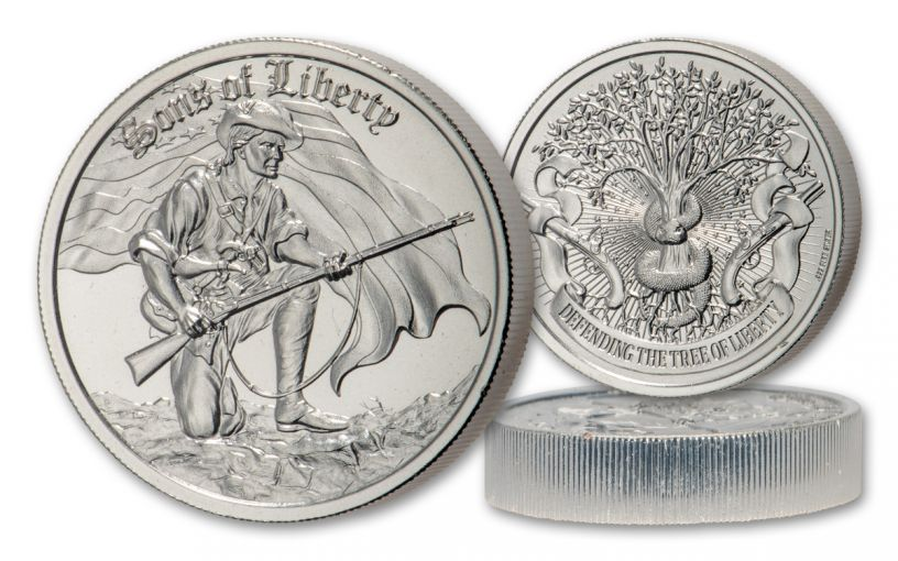 Sons of Liberty 2-oz Silver Round