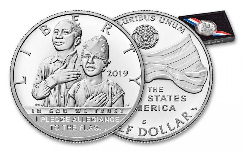 2019-S Clad Half Dollar American Legion 100th Anniversary Commemorative Proof